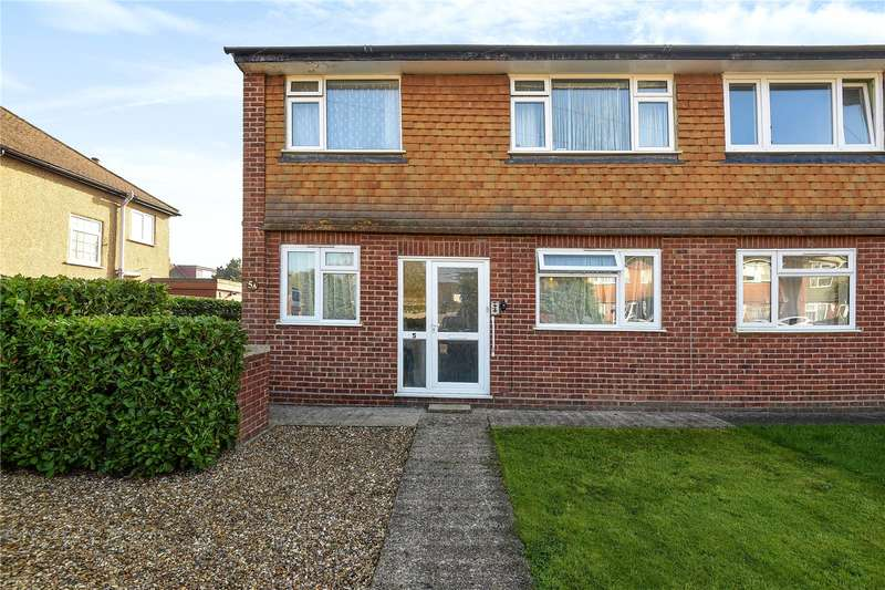 2 Bedrooms Maisonette Flat for sale in Crosier Road, Ickenham, Uxbridge, Middlesex, UB10