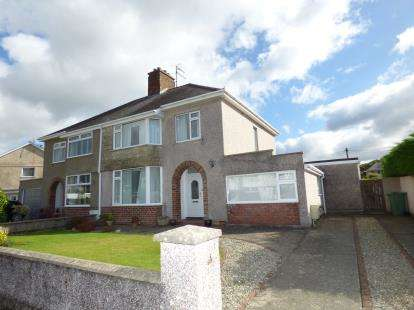 4 Bedrooms Semi Detached House for sale in Meadow Drive, ., Porthmadog, Gwynedd, LL49