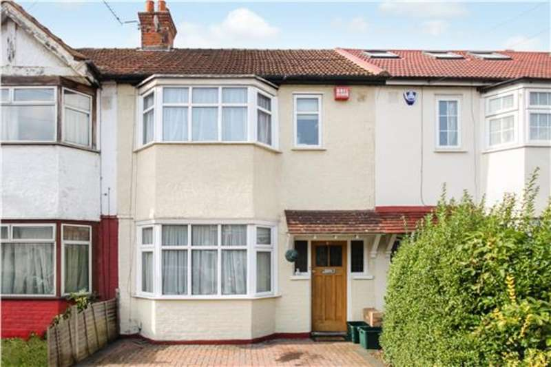 3 Bedrooms Terraced House for sale in Byron Avenue, New Malden