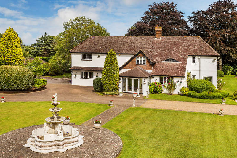 6 Bedrooms Detached House for sale in Rushmore Hill, Knockholt, Sevenoaks TN14