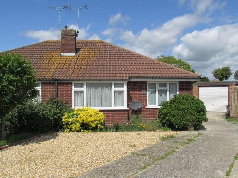 2 Bedrooms Bungalow for sale in Greenwood Close, North Bersted, Bognor Regis, West Sussex, PO22 9DG