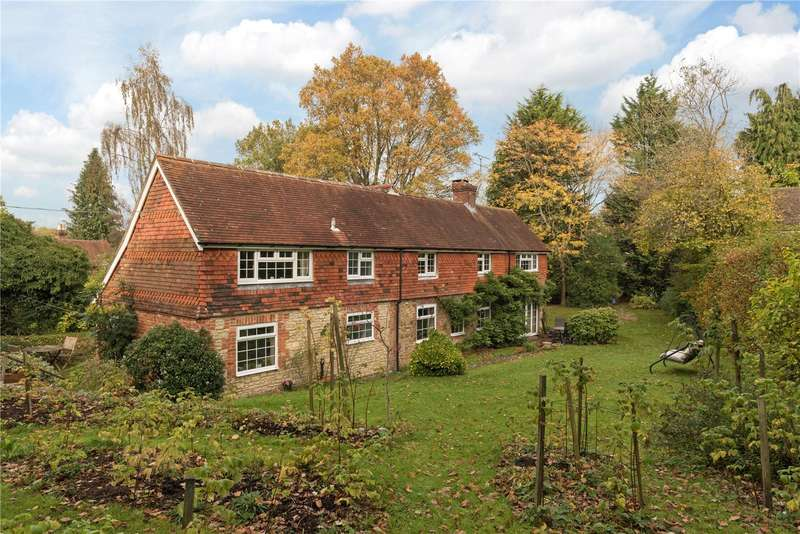 3 Bedrooms Detached House for sale in Crossways, Churt, Farnham, Surrey, GU10
