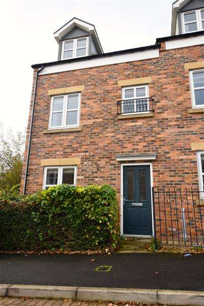 3 Bedrooms End Of Terrace House for sale in Wyedale Way, Newcastle upon Tyne
