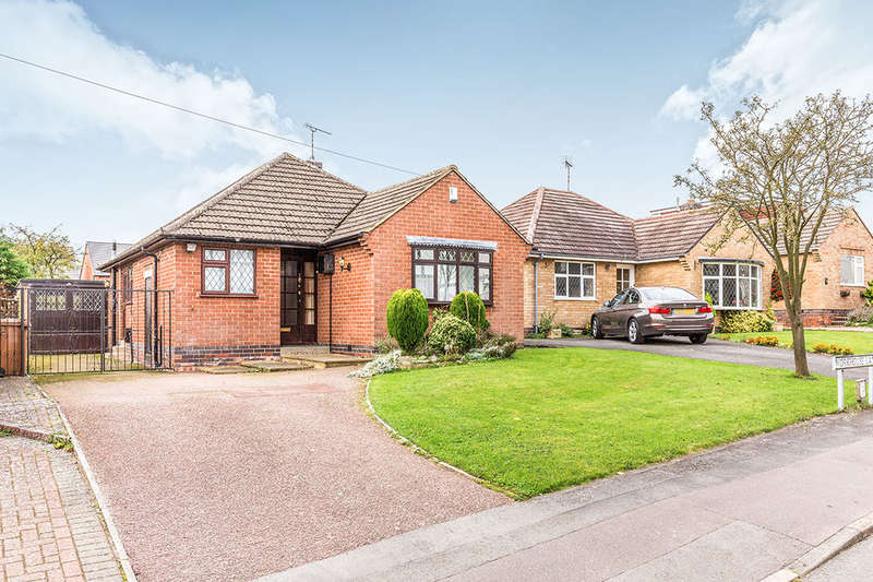 2 Bedrooms Detached Bungalow for sale in Workhouse Lane, Burbage, Hinckley, LE10