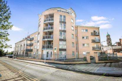 2 Bedrooms Flat for sale in Roughley House, 9 Bridge Street, Birkenhead, CH41