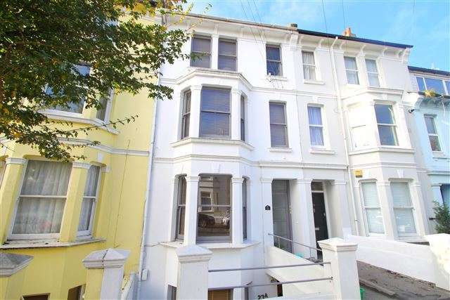 3 Bedrooms Maisonette Flat for sale in 23 Warliegh Road, Brighton, BN1 4NT