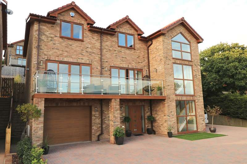 5 Bedrooms Detached House for sale in Pollard Close, Caerleon, Newport, NP18