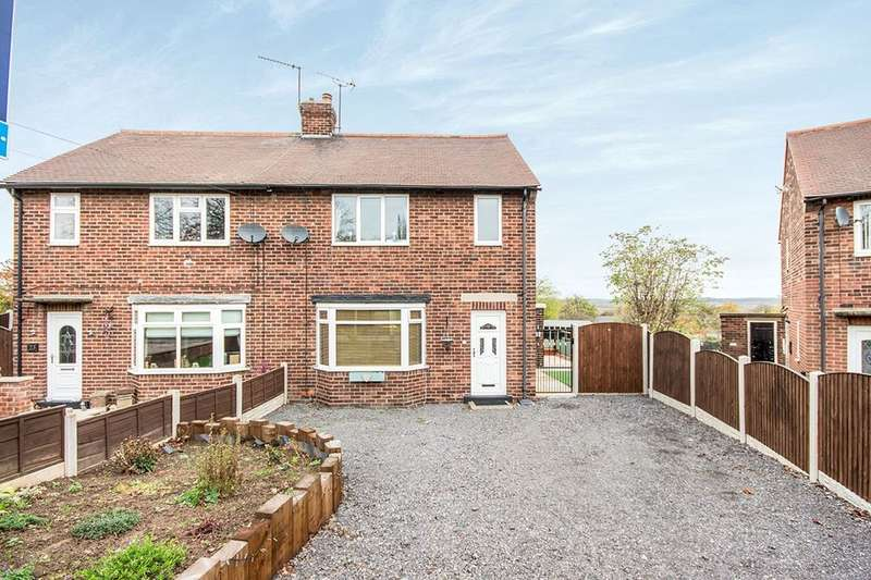2 Bedrooms Semi Detached House for sale in Lumley Avenue, Hightown, Castleford, WF10