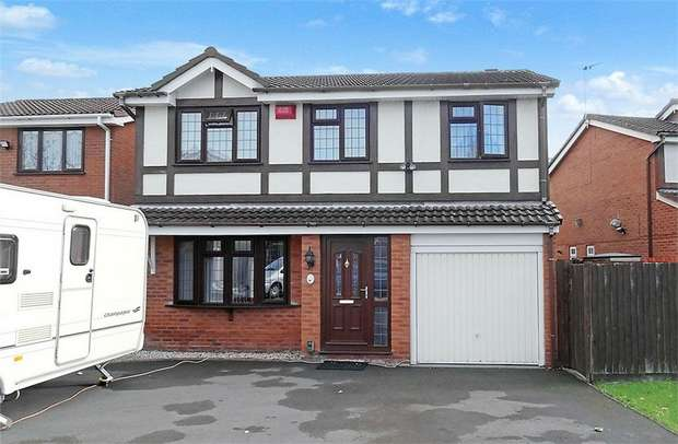 5 Bedrooms Detached House for sale in Ravenhill Drive, Ketley Bank, Telford, Shropshire
