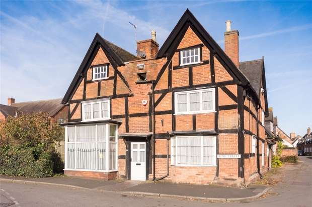 3 Bedrooms Cottage House for sale in 1 King Street, Yoxall, Burton upon Trent, Staffordshire