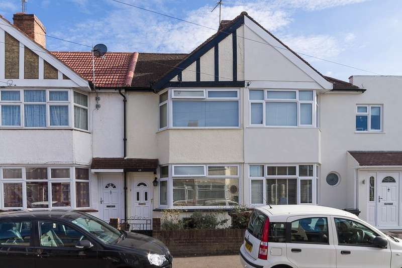 3 Bedrooms Terraced House for sale in Sunningdale Avenue, Feltham, TW13
