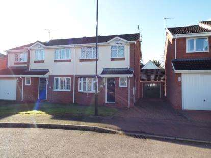 3 Bedrooms Semi Detached House for sale in Wickham Close, Keresley, Coventry, West Midlands