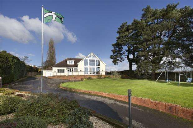 5 Bedrooms Detached House for sale in Oakhayes Road, Woodbury, Exeter, Devon