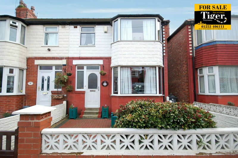 3 Bedrooms End Of Terrace House for sale in Collyhurst Avenue, Blackpool
