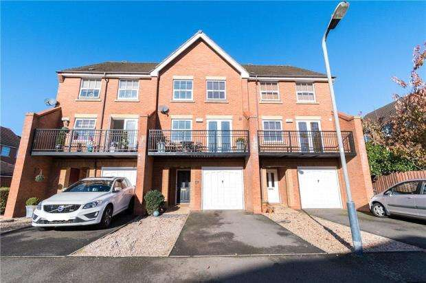 4 Bedrooms Terraced House for sale in Rambures Close, Warwick