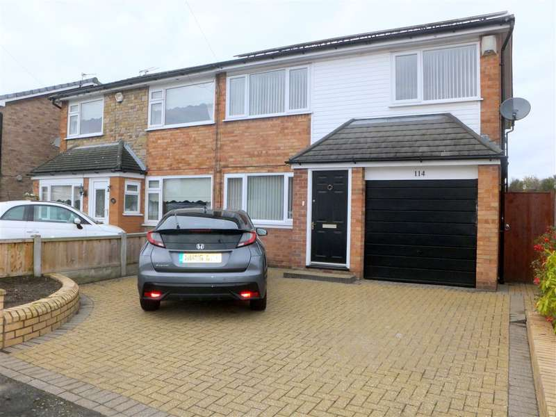 4 Bedrooms Semi Detached House for sale in Deepdale Drive, Rainhill, Prescot