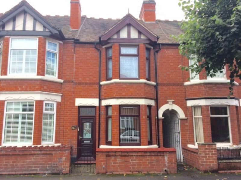 3 Bedrooms Terraced House for sale in Earls Road, Nuneaton, CV11