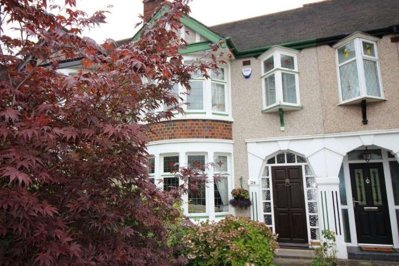3 Bedrooms Terraced House for sale in Bromleigh Drive, Copsewood, Coventry, CV2