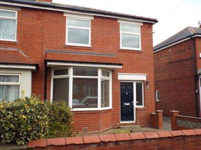 3 Bedrooms Semi Detached House for sale in Myerscough Ave, Lytham St Annes, Lancashire, FY8