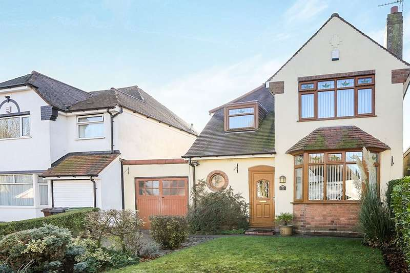 3 Bedrooms Detached House for sale in Himley Crescent, Wolverhampton, WV4