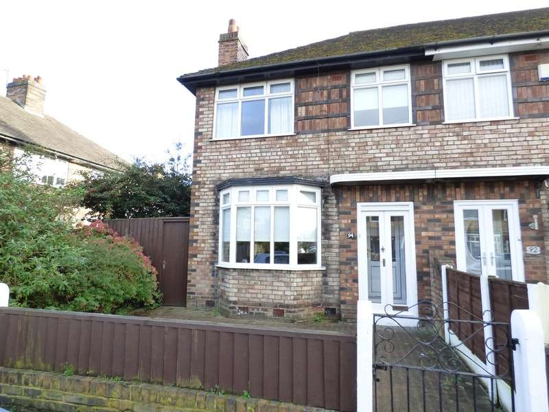 3 Bedrooms End Of Terrace House for sale in Rudyard Road, Liverpool, Merseyside, L14