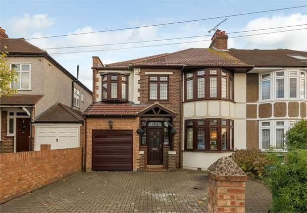 4 Bedrooms Semi Detached House for sale in Townley Road, Bexleyheath, Kent