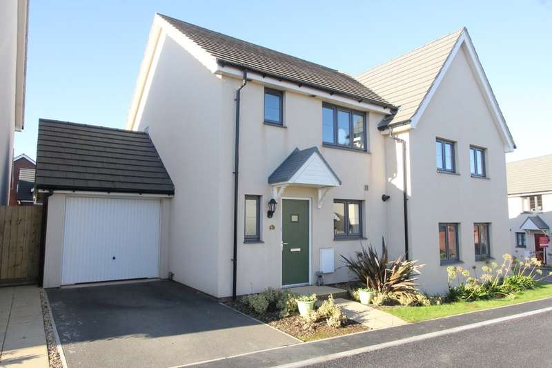 3 Bedrooms Semi Detached House for sale in Mimosa Way, Paignton