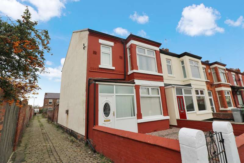 3 Bedrooms House for sale in Leander Road, Wallasey, CH45 4RP