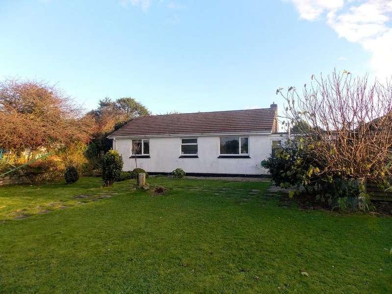 2 Bedrooms Detached Bungalow for sale in Horsedowns Road, Leedstown, Hayle
