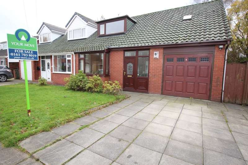 3 Bedrooms Semi Detached Bungalow for sale in Shawbrook Avenue, Worsley, Manchester, M28