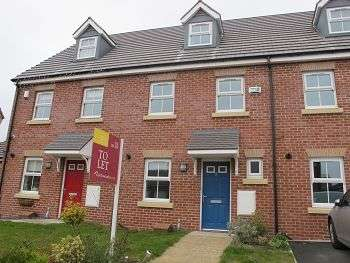 3 Bedrooms Town House for rent in Teignmouth Close, Garston, Liverpool