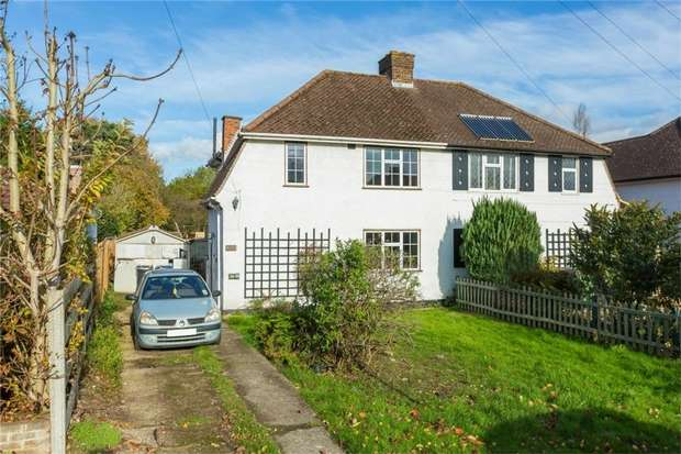 2 Bedrooms Semi Detached House for sale in 104 Ashford Road, IVER, Buckinghamshire