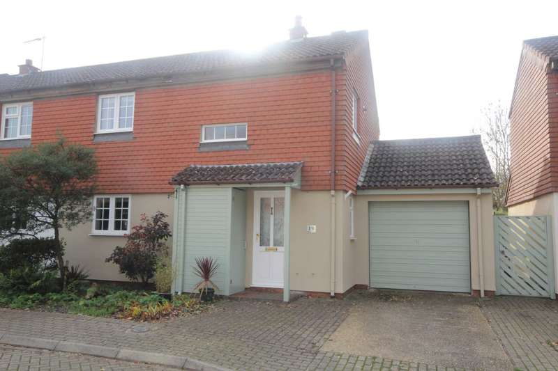 3 Bedrooms Semi Detached House for sale in SPACIOUS and WELL PRESENTED 3 DOUBLE BED SEMI-DETACHED home with CUL-DE-SAC situation. NO UPPER CHAIN in Bovingdon.