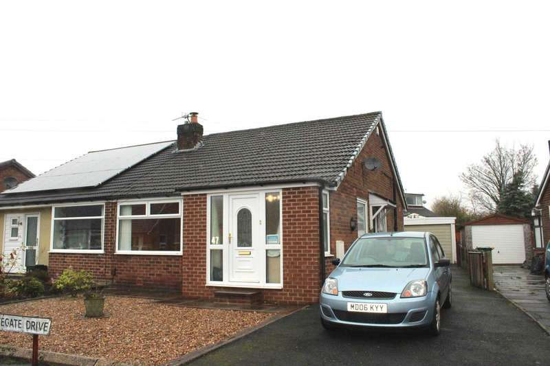 2 Bedrooms Bungalow for sale in Whitegate Drive, Bolton