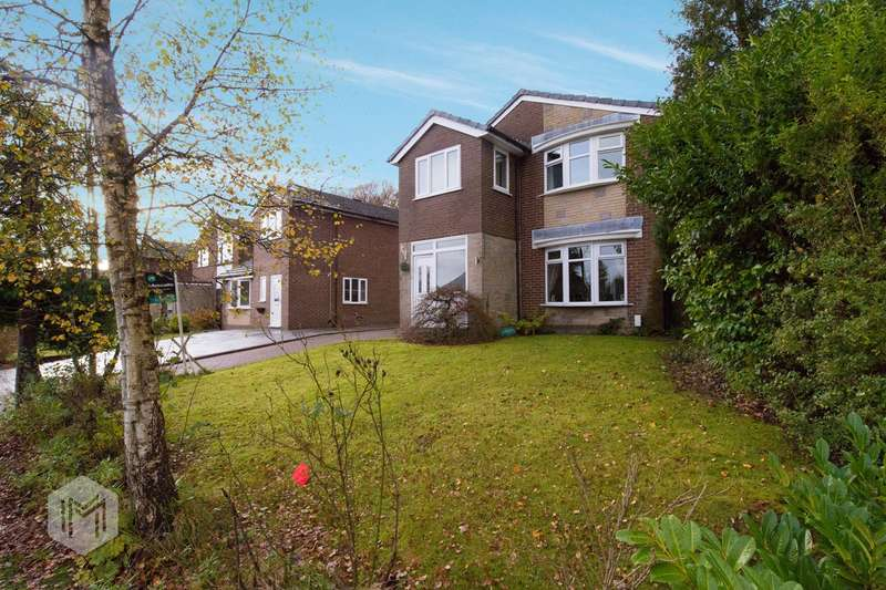 4 Bedrooms Detached House for sale in Montrose Drive, Bromley Cross, Bolton, BL7