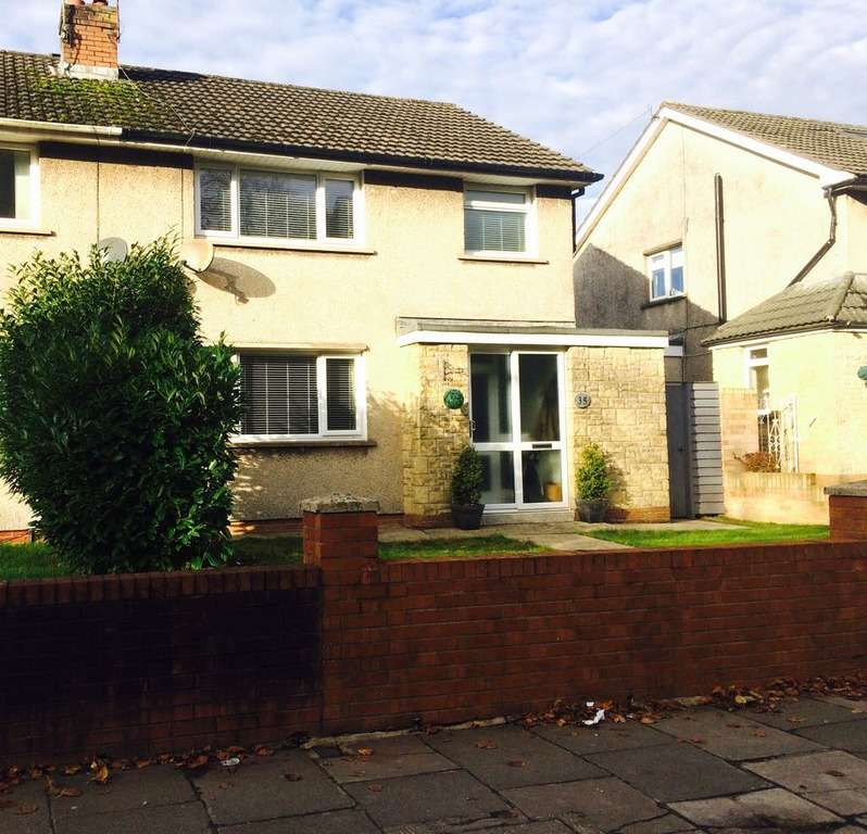 3 Bedrooms Semi Detached House for sale in Michaelston Road, Cardiff