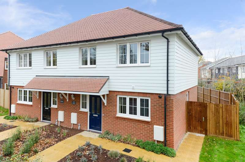 3 Bedrooms Semi Detached House for sale in The Weavers, Grigg Lane, Headcorn, TN27