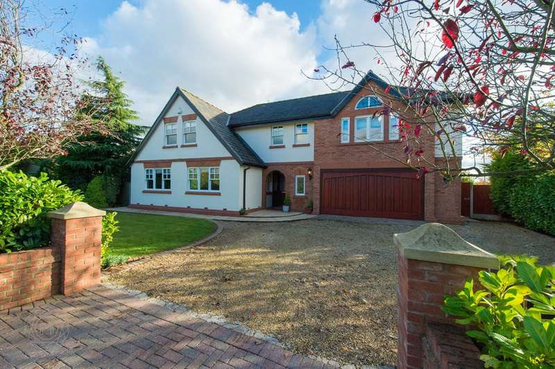 5 Bedrooms Detached House for sale in Claremont Road, Culcheth, Warrington, WA3