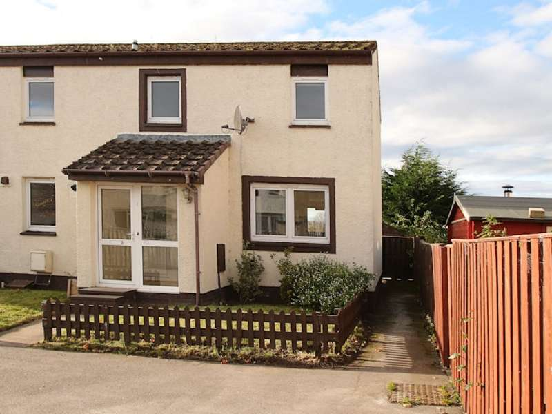 4 Bedrooms End Of Terrace House for sale in 70 Easter Road, Kinloss, Forres, IV36 3FG