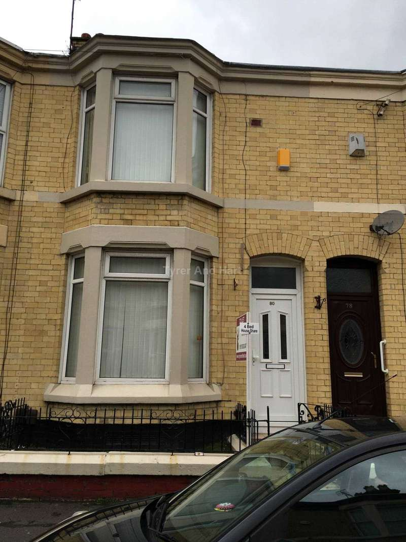4 Bedrooms House Share for rent in Saxony Road, Liverpool