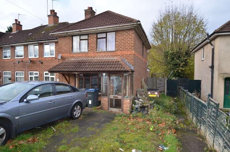 3 Bedrooms End Of Terrace House for sale in Stanbury Road, Kings Heath, Birmingham, B14
