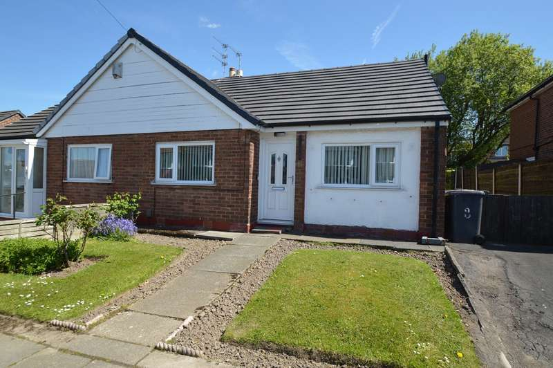 2 Bedrooms Semi Detached Bungalow for sale in Colinwood Close , Sunnybank , Bury, BL9