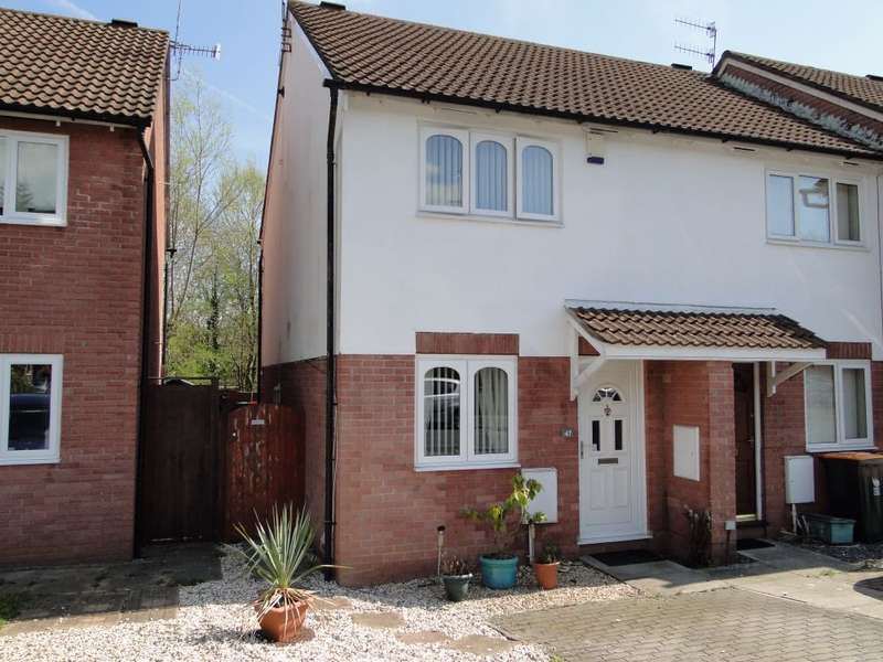 2 Bedrooms End Of Terrace House for sale in The Brades, Caerleon, Newport, NP18