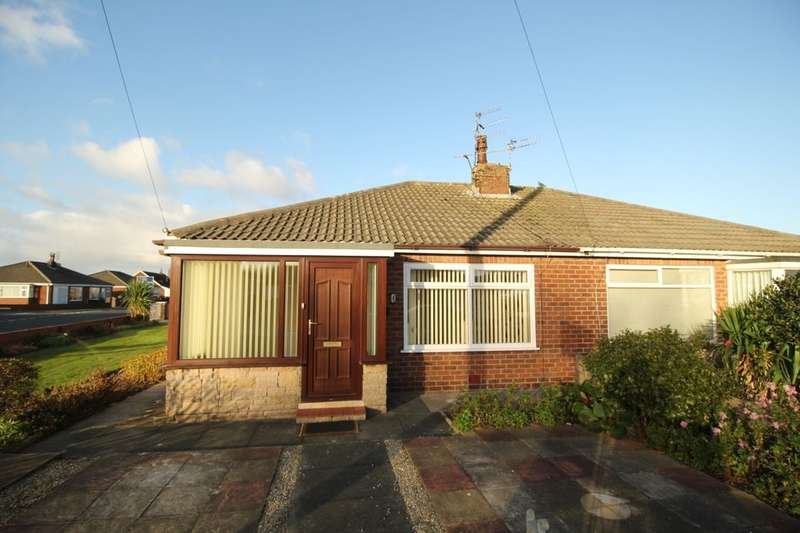 2 Bedrooms Semi Detached Bungalow for sale in Briarfield Road, Poulton-Le-Fylde, FY6