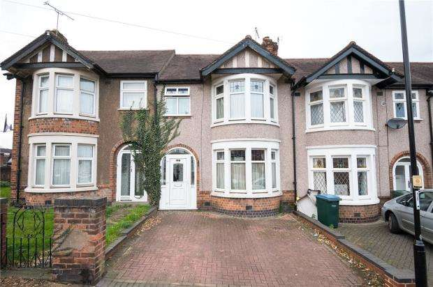 3 Bedrooms Terraced House for sale in Lord Lytton Avenue, Poets Corner, Coventry, West Midlands