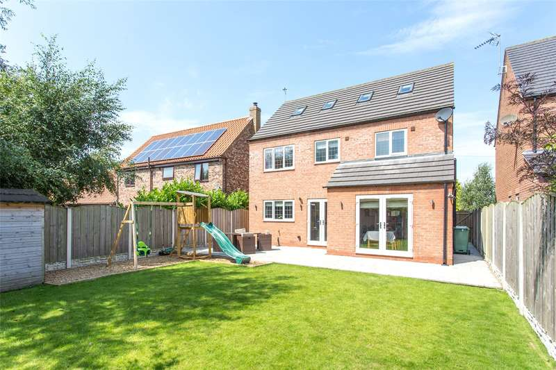 5 Bedrooms Detached House for sale in York Road, Cliffe, Selby, North Yorkshire, YO8