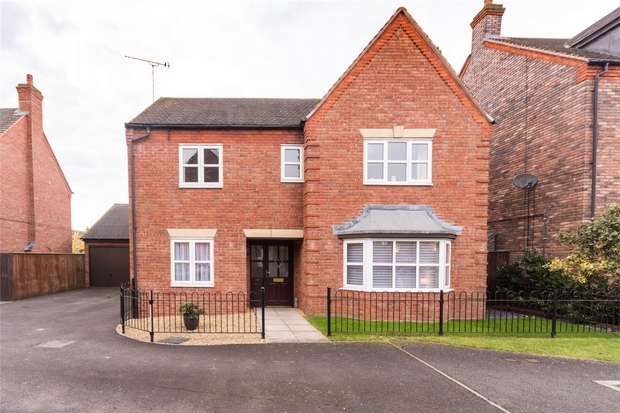 4 Bedrooms Detached House for sale in Mitchell Close, Fradley, Lichfield, Staffordshire