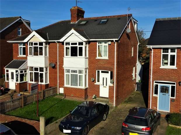 4 Bedrooms Semi Detached House for sale in Chard Road, Heavitree, EXETER, Devon