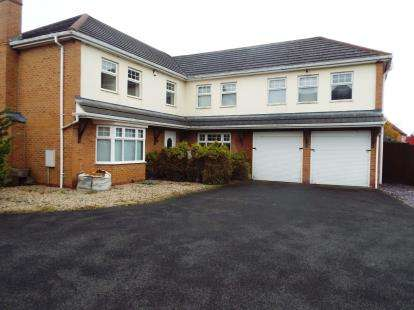5 Bedrooms Detached House for sale in Marwood Close, Nuneaton, Warwickshire