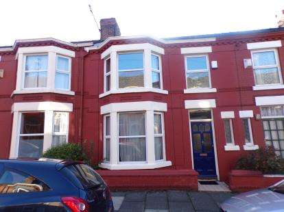3 Bedrooms Terraced House for sale in Lugard Road, Liverpool, Merseyside, L17